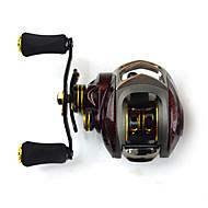 tanie Fishing & Hunting-Kołowrotki 6.3:1 14 Łożyska kulkowe LeworęcznaSea Fishing Casting Bait Ice Fishing Osadzenia Fishing Wędkarstwo słodkowodne Inny Carp