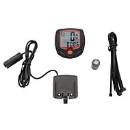 cheap Cycling & Bike Accessories-Bike Computers ,Digital LCD Cycling Computer Bicycle Speedometer 13 Functions Odometer Speed  548B