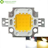 povoljno -SENCART 1pc COB 900 lm 30 V Aluminijum LED Chip 10 W