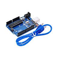 UNO R3 For Arduino (Neutral) Development Board, Single-Chip Microcomputer To USB Cable