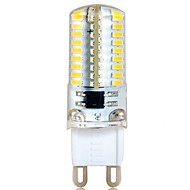 ywxlight® 6w g9 led bi-pin lights 72 smd 3014 500-550 lm branco quente branco frio branco decorativo 220-240 v