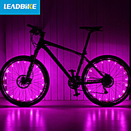 cheap Flashlights, Lanterns & Lights-LEADBIKE Bike Light Wheel Lights 2 Mode Bike Battery AAA Rechargeable / Easy to Carry Cycling Green / Pink / Red