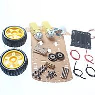 お買い得  Arduino 用アクセサリー-DIYのロボットカーのシャーシ/スマートカーシャーシ