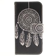 """Для Кейс для  Samsung Galaxy Бумажник для карт / Кошелек / со стендом / Флип / С узором Кейс для Чехол Кейс для Рисунок """"Ловец снов"""""""