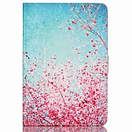 cheap iPad  Cases / Covers-Case For iPad Mini 3/2/1 Card Holder with Stand Full Body Cases Flower PU Leather for iPad Mini 3/2/1