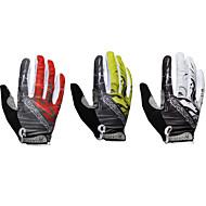 お買い得  -Handcrew® スポーツグローブ サイクルグローブ アンチスキッド フルフィンガー スパンデックス サイクリング / バイク 男性用 女性用