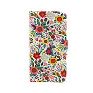 Назначение iPhone X iPhone 8 Кейс для iPhone 5 Чехлы панели Кошелек Бумажник для карт со стендом Флип С узором Чехол Кейс для Цветы
