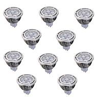 お買い得  LED スポットライト-ywxlight®10個入りGU5.3(MR16)6ワット4 *穂軸540lm暖かい/クールホワイト交流85から265のAC / DC 12V