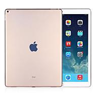 Case Kompatibilitás Átlátszó Fekete tok Egyszínű TPU mert iPad Pro 12.9''