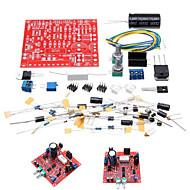 olcso Arduino tartozékok-0-30v 2 mA - 3a beállítható DC szabályozott tápegység DIY kit rövidzárlat áramkorlátozás védelem
