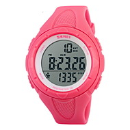 Χαμηλού Κόστους Επώνυμα ρολόγια-SKMEI Γυναικεία Ψηφιακό ρολόι Μοδάτο Ρολόι Αθλητικό Ρολόι Ψηφιακό Συναγερμός Ημερολόγιο Χρονογράφος Ανθεκτικό στο Νερό Αθλητικό Ρολόι LCD