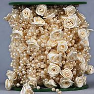 Mások Strassz Esküvői szalagok-1 Darab / Set Organzaselyem Ajándék csokor