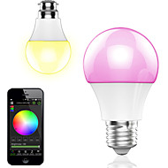 4.5w inteligente de control app wireless bluetooth led rgb lampa / lumina 1pcs