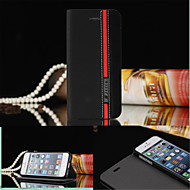 저렴한 -케이스 제품 iPhone 5 Apple 아이폰5케이스 스탠드 플립 전체 바디 케이스 한 색상 하드 PU 가죽 용 iPhone SE/5s iPhone 5