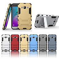 cheap Cell Phone Cases-Case For Samsung Galaxy Samsung Galaxy Case Shockproof / with Stand Back Cover Armor Hard PC for J7 (2016) / J7 / J5 (2016)