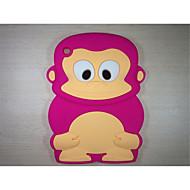 majom modell ütésálló burkolattal aranyos gumi szilikon tok iPad mini 3/2/1 (vegyes színes)