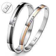 Personlig Smykker-Kærester-Titanium Stål- iArmbånd