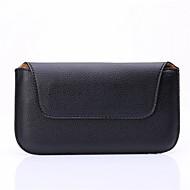 универсальный личи зерна черного поясная сумка для Sansung Galaxy S3 / S3 мини / S4 / S4 мини / S5 / S5 мини / S6 / S6 край / s6 край плюс