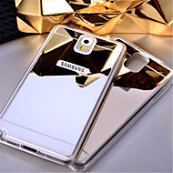 For Samsung Galaxy Note5 case Mirror TPU Soft Acrylic Back cover Note 3 Note4 Note 5