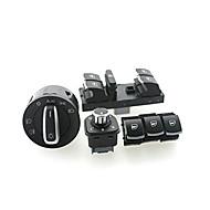 Недорогие Выключатели-iztoss окно фар переключатель VW Passat B6 Jetta гольф mk5 Mk6 куб.см 5nd941431b / 5nd959857 / 5nd959855 / 5nd959565a 6set