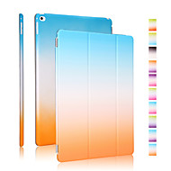 Good quality PU leather rainbow gradient holster for iPad Air