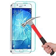 abordables Galalxy A Protectores de Pantalla-Protector de pantalla Samsung Galaxy para A8 Vidrio Templado Protector de Pantalla Frontal