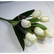 abordables Flores Artificiales-Flores Artificiales 1 Rama Estilo Simple Tulipán Flor de Mesa
