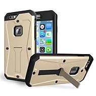 お買い得  -ケース 用途 Apple iPhone 6 iPhone 6 Plus 耐水 耐埃 耐衝撃 フルボディーケース 純色 ソフト TPU のために iPhone 6s Plus iPhone 6s iPhone 6 Plus iPhone 6