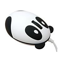 szuper aranyos panda egyedi design hordozható USB vezetékes optikai gyönyörű szép divatos kis mini egér