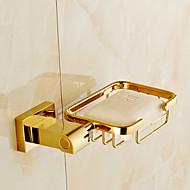 abordables Artículos para el Hogar-Jaboneras y Soportes Moderno Latón 1 pieza - Baño del hotel