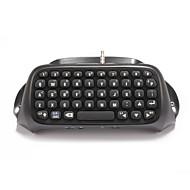 マウスとキーボード のために PS4 ミニ 充電式 ゲームハンドル ブルートゥース キーボード