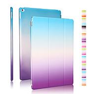hyvä laatu PU nahka sateenkaaren kaltevuus kotelo iPad ilma 2