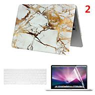 en smart pvc macbook tilfældet med tastatur cover og skærm flim til MacBook Air 13,3 tommer