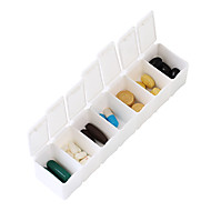 Plastic Inflated Mat Travel Pill Box/Case Portable Travel Accessories for Emergency