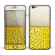 """iphone 6 плюс / 6S плюс наклейка кожи тела искусство: """"пиво"""" (творческий серия)"""