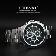 CHENXI® Muškarci Ručni satovi s mehanizmom za navijanje Kvarc Japanski kvarc Nehrđajući čelik Grupa Srebro
