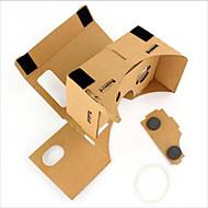 karton vr virtuális valóság szemüveg vihar tükör diy kit
