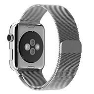 hesapli -Watch Band Apple Watch Series 3 / 2 / 1 için Apple Milan Döngüsü Paslanmaz Çelik Bilek Askısı