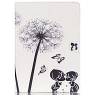 Для Кейс для  Samsung Galaxy Кошелек / Бумажник для карт / со стендом / Флип / С узором Кейс для Чехол Кейс для ОдуванчикИскусственная