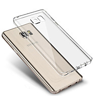 For Samsung Galaxy S7 Edge Ultratyndt Transparent Etui Bagcover Etui Helfarve TPU for Samsung S7 edge S7