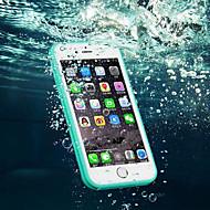 Назначение iPhone 8 iPhone 8 Plus iPhone 7 iPhone 7 Plus iPhone 6 iPhone 6 Plus Чехлы панели Защита от влаги Прозрачный Чехол Кейс для