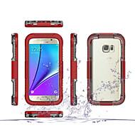 Для Samsung Galaxy S7 Edge Защита от удара / Прозрачный Кейс для Чехол Кейс для Армированный PC Samsung S7 edge / S7