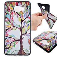 Для Кейс для  Samsung Galaxy С узором Кейс для Задняя крышка Кейс для дерево TPU Samsung A7(2016) / A5(2016) / A3(2016)