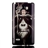 お買い得  携帯電話ケース-用途 LGケース ケース カバー クリア パターン バックカバー ケース 動物 ソフト TPU のために LG LG G4スタイラス/ LS770
