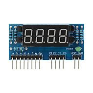 """halpa Arduino-tarvikkeet-4-numeroinen yhteinen anodi 0,36 """"digitaalinen näyttö moduuli arduino + vadelma pi - sininen"""