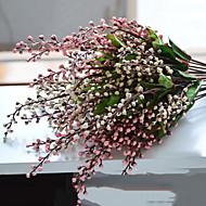 abordables Flores Artificiales-Flores Artificiales 1 Rama Estilo Simple Fruta Flor de Mesa
