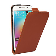 cheap Cases / Covers for Samsung-Case For Samsung Galaxy Samsung Galaxy Case Flip Full Body Cases Solid Color PU Leather for S5 Mini S4 Mini S3 Mini