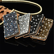 Luxury Bling Crystal Diamond Wallet Flip Card Case Cover For Samsung Note3 Note4 Note5