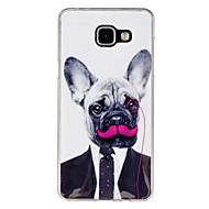 Для Кейс для  Samsung Galaxy С узором Кейс для Задняя крышка Кейс для С собакой TPU Samsung A7(2016) / A5(2016) / A3(2016) / A9