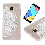 Для Кейс для  Samsung Galaxy Прозрачный / С узором Кейс для Задняя крышка Кейс для Кружевной дизайн PC SamsungA7(2016) / A5(2016) /